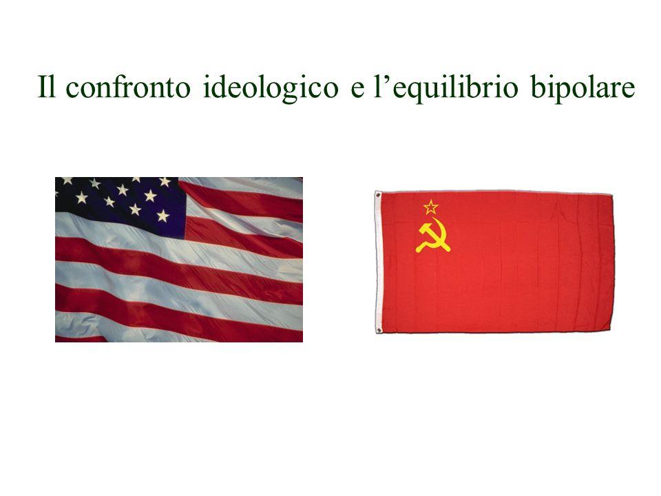 Il confronto ideologico e lequilibrio bipolare