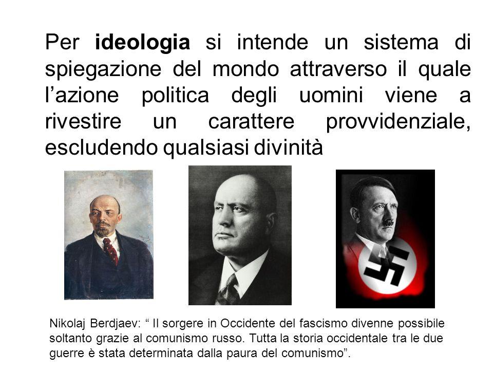 Fascismo e nazismo giustificarono se stessi con lesigenza assoluta di combattere la diffusione nel mondo della rivoluzione proletaria [zagrebelski]