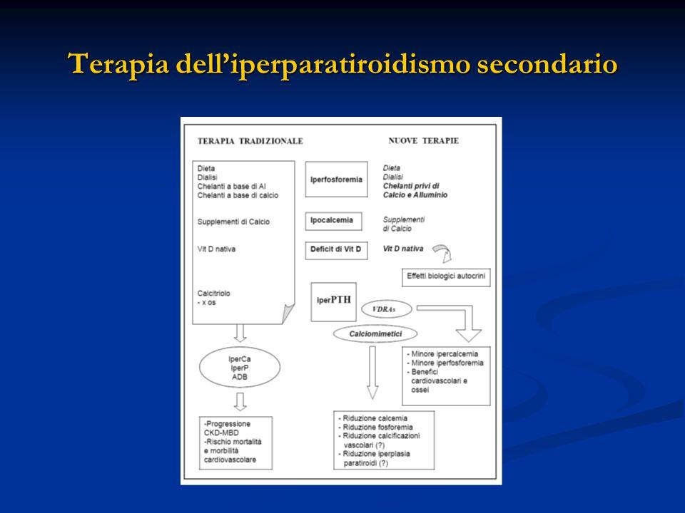 Terapia delliperparatiroidismo secondario