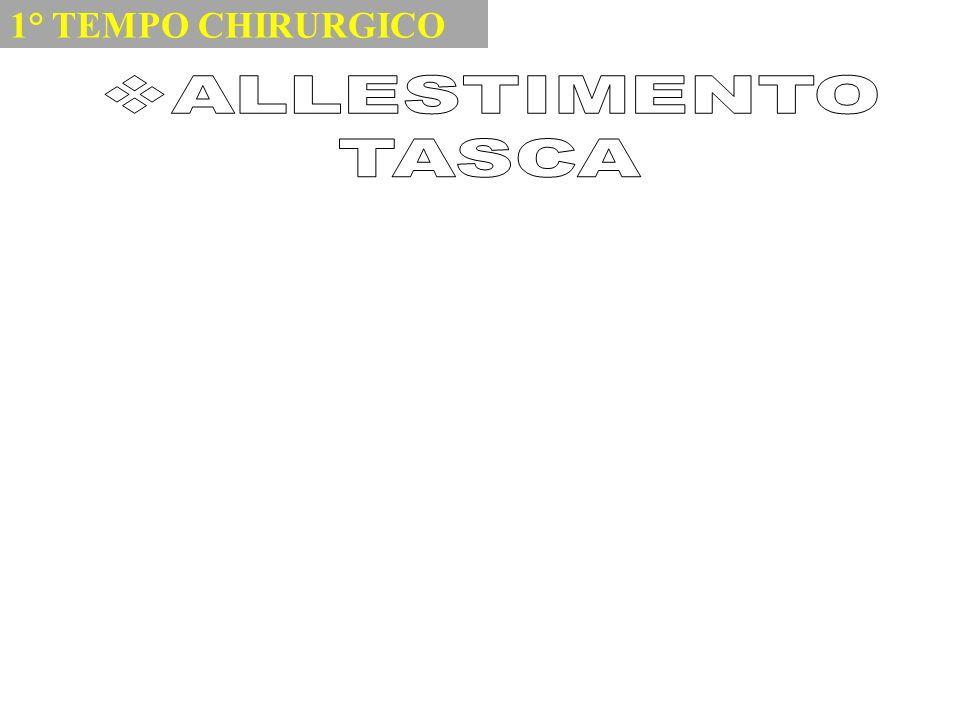 1° TEMPO CHIRURGICO