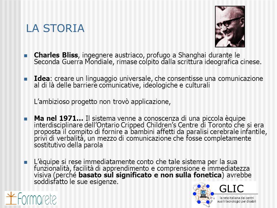 GLIC la rete italiana dei centri ausili tecnologici per disabili GLIC la rete italiana dei centri ausili tecnologici per disabili LA STORIA Charles Bl