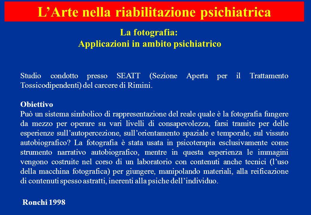 Studio condotto presso SEATT (Sezione Aperta per il Trattamento Tossicodipendenti) del carcere di Rimini. Obiettivo Può un sistema simbolico di rappre