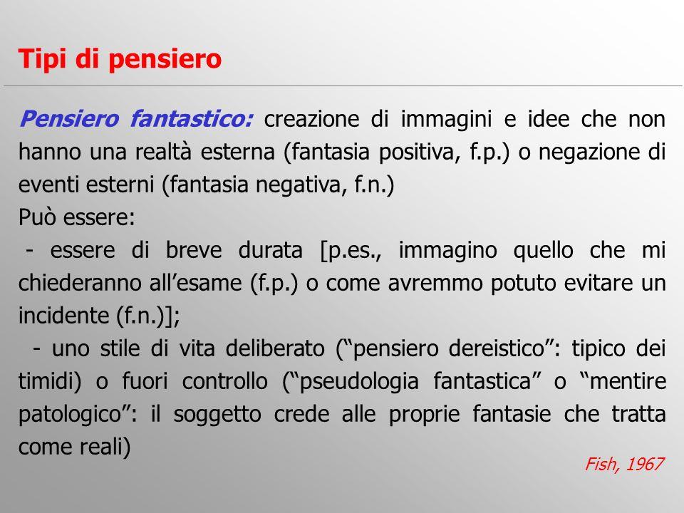 4) Povertà di eloquio Consiste in una riduzione delleloquio spontaneo con risposte brevi e poco elaborate.