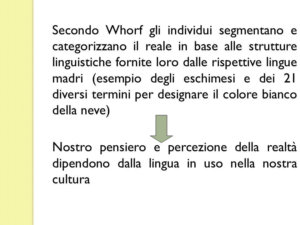 Secondo Schank (1976) il cuore della comprensione è la produzione di inferenze (cfr.