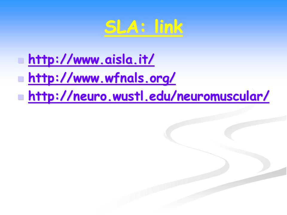 SLA: link http://www.aisla.it/ http://www.aisla.it/ http://www.aisla.it/ http://www.wfnals.org/ http://www.wfnals.org/ http://www.wfnals.org/ http://n