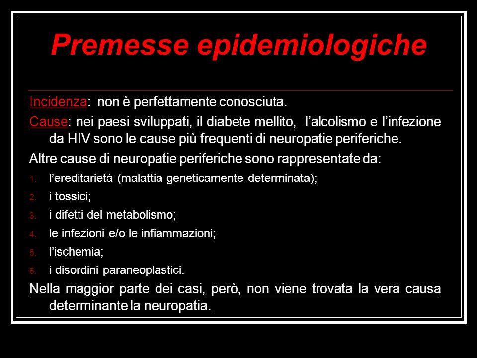 Premesse epidemiologiche Incidenza: non è perfettamente conosciuta. Cause: nei paesi sviluppati, il diabete mellito, lalcolismo e linfezione da HIV so