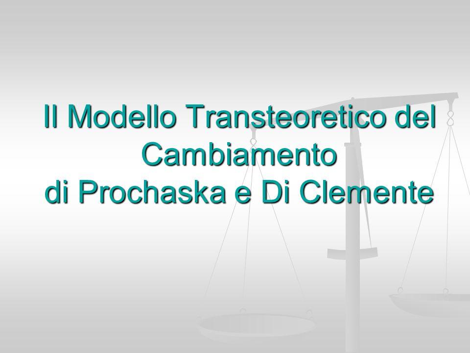 Il Modello Transteoretico del Cambiamento di Prochaska e Di Clemente