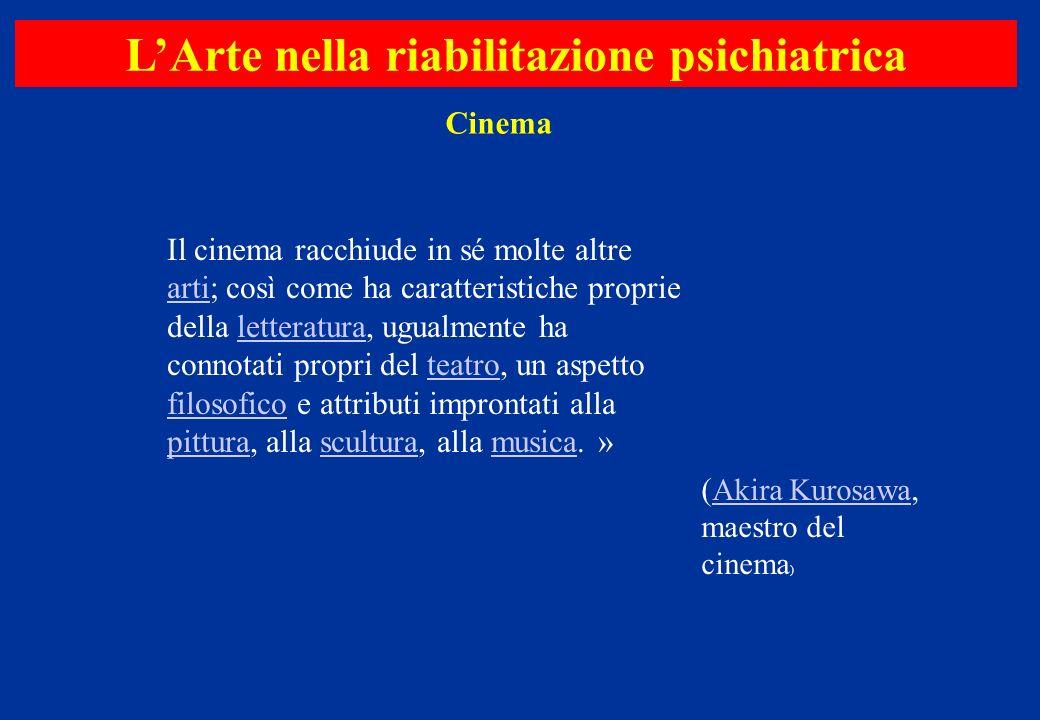 Il cinema racchiude in sé molte altre arti; così come ha caratteristiche proprie della letteratura, ugualmente ha connotati propri del teatro, un aspe