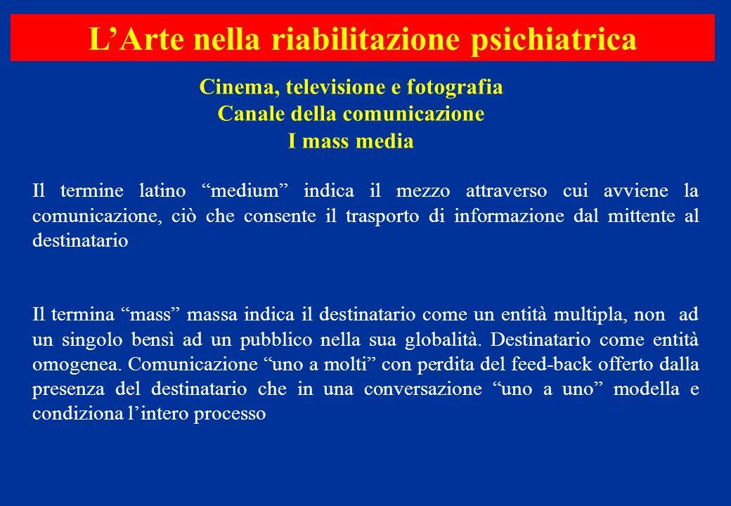 Il termine latino medium indica il mezzo attraverso cui avviene la comunicazione, ciò che consente il trasporto di informazione dal mittente al destin