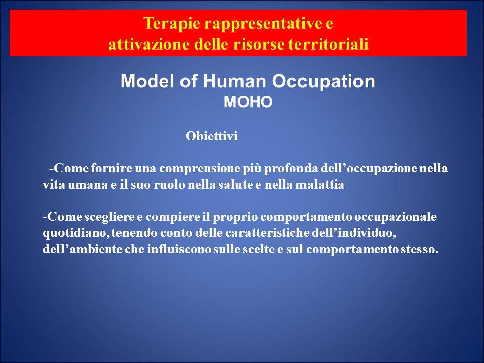 The Canadian Model of Occupational Performance and Engagement (CMOP-E) was developed by the Canadian Association of Occupational Therapists in 1997, and describes transactions and mutual influences between the dimensions of occupational performance.