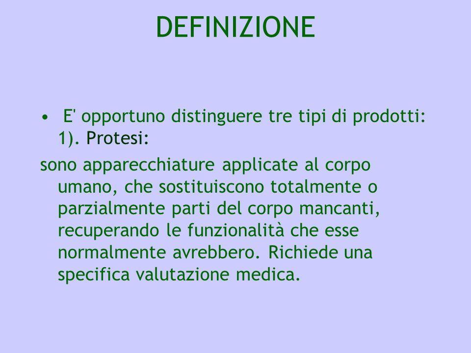 CONSIGLIARE GLI AUSILI DEFINIZIONE 2).