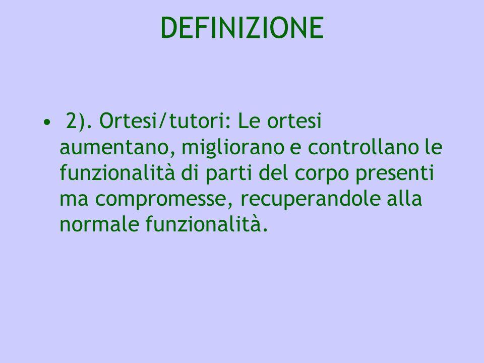 CONSIGLIARE GLI AUSILI DEFINIZIONE 3).
