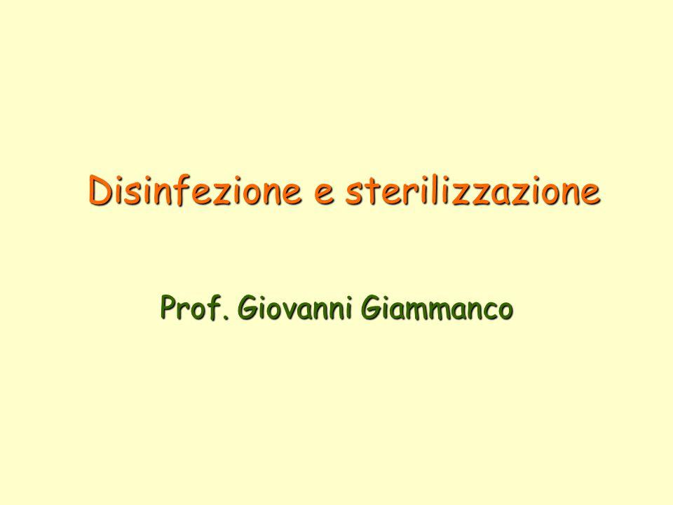 PULIZIA: rimozione di sporcizia o rifiuti DISINFEZIONE: distruzione o riduzione numerica di microrganismi patogeni.