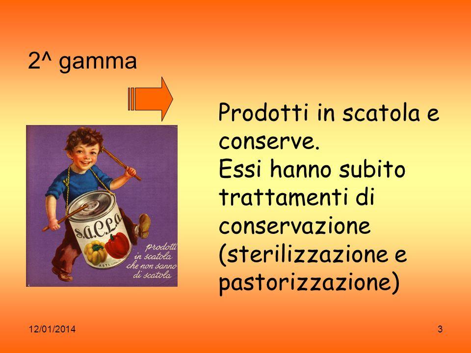 12/01/20144 3^ gamma alimenti congelati e surgelati es.