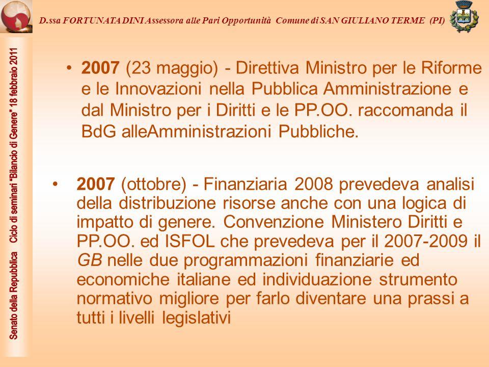 2009 - Decreto Legislativo n.
