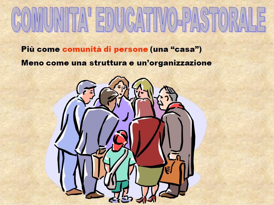 PASTORALE GIOVANILE COMUNITARIA INTEGRALE Comunità educativo- pastorale Stilo di animazione Mentalità progettuale Proposta pastorale integrale