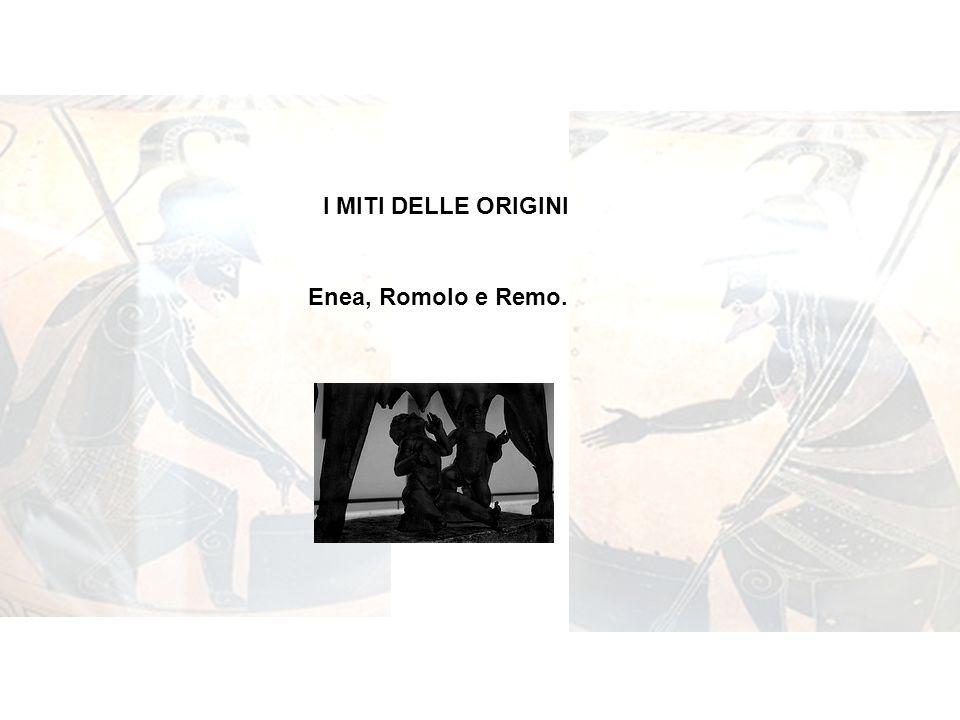 Il mito di Enea è antico, tanto che le prime versioni sono già note in Etruria prima del VI secolo a.C.