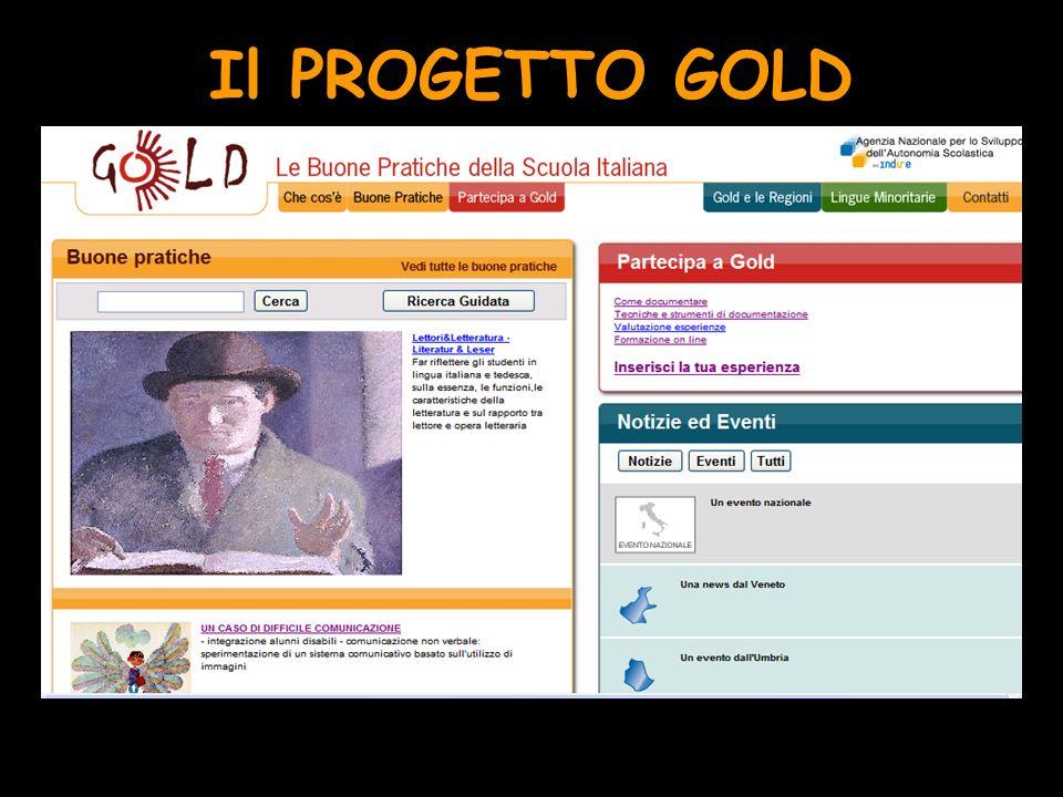 Il PROGETTO GOLD