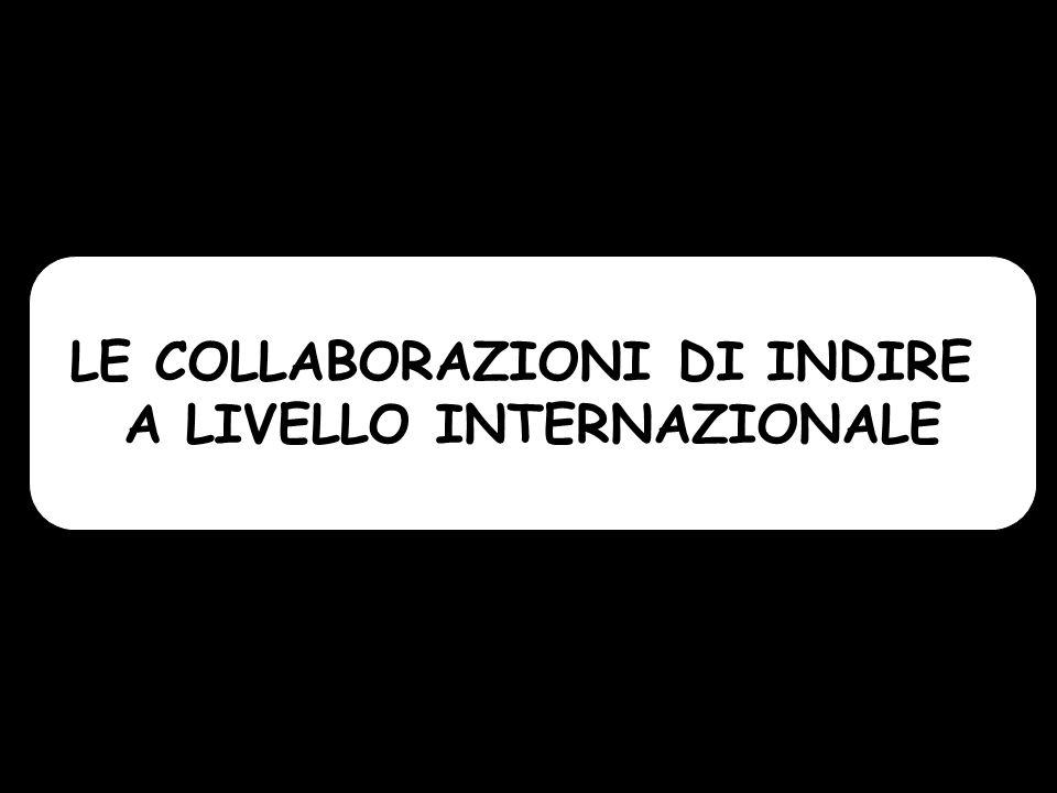 LE COLLABORAZIONI DI INDIRE A LIVELLO INTERNAZIONALE