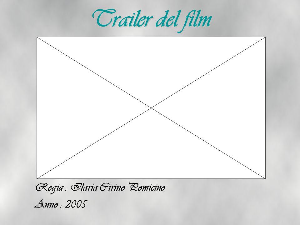 Trailer del film Regia : Ilaria Cirino Pomicino Anno : 2005