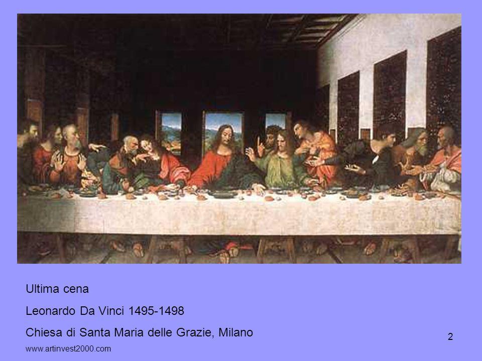 3 Ultima Cena Tintoretto 1545 San Giorgio Maggiore, Venezia www.lasiciliainrete.it