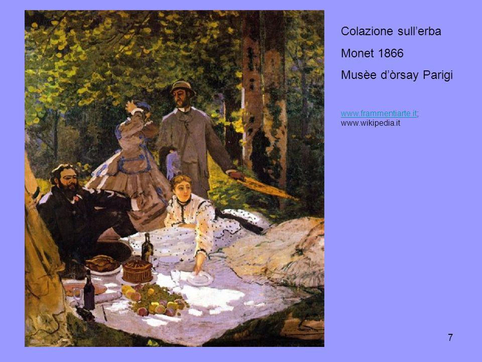 8 La colazione dei canottieri Renoir 1880-1882 Phillips collection, Washington www.bibliotecasalaborsa.it