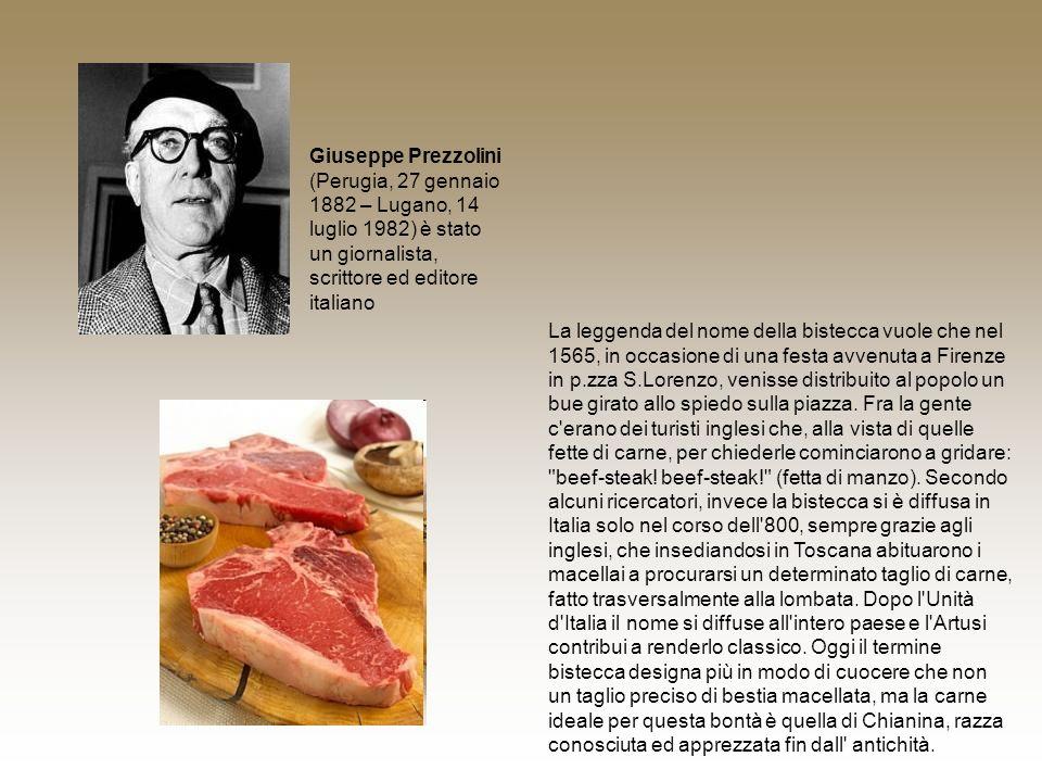 Giuseppe Prezzolini (Perugia, 27 gennaio 1882 – Lugano, 14 luglio 1982) è stato un giornalista, scrittore ed editore italiano La leggenda del nome del