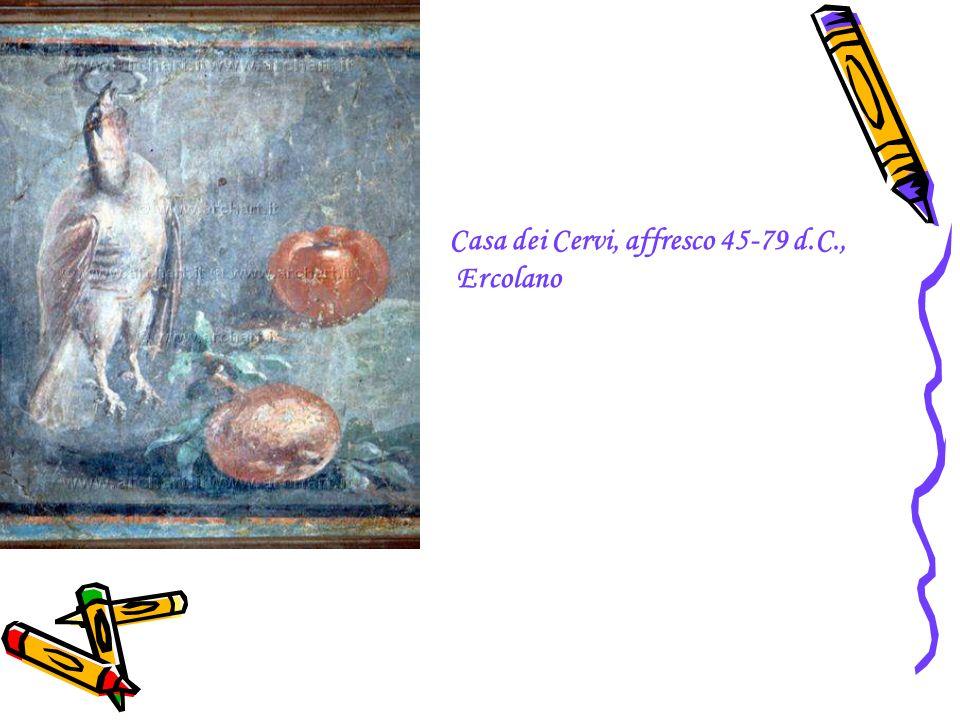 Casa dei Cervi, affresco 45-79 d.C., Ercolano