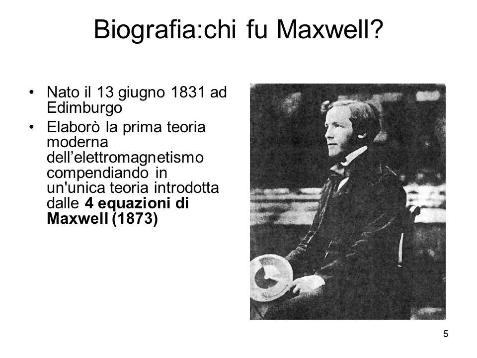 6 La fede cristiana di Maxwell si manifesta anche nell approccio alla sua attività scientifica.