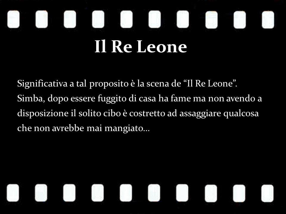 Il Re Leone Significativa a tal proposito è la scena de Il Re Leone.