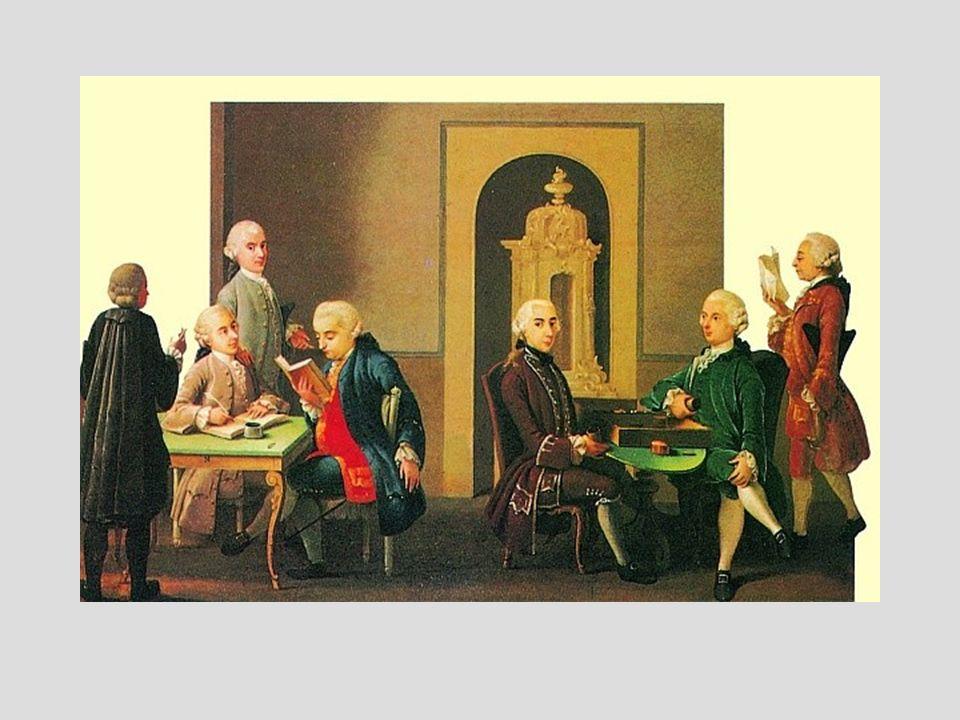Nel giugno del 1764 nasce a Milano, ad opera di Pietro Verri,la rivista IL CAFFÈ.