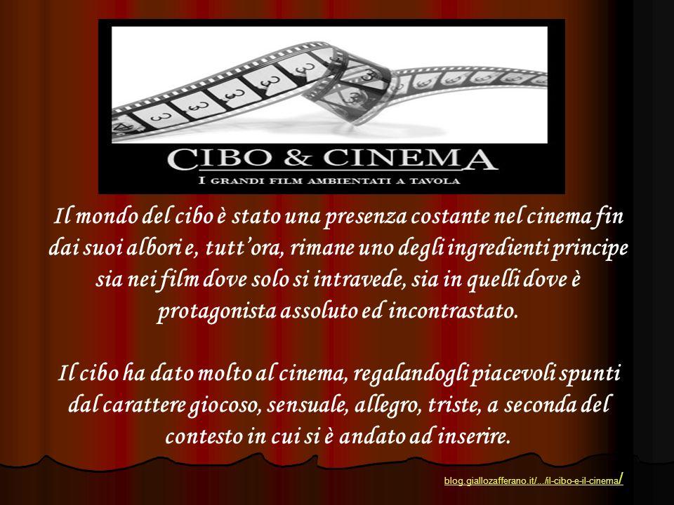 Il mondo del cibo è stato una presenza costante nel cinema fin dai suoi albori e, tuttora, rimane uno degli ingredienti principe sia nei film dove sol