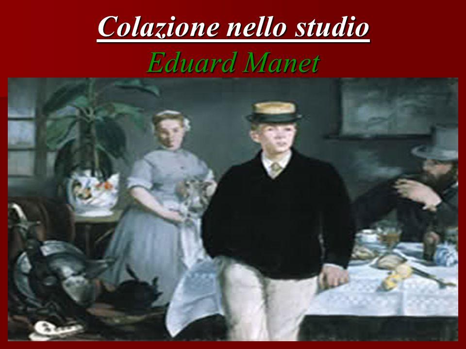 Colazione nello studio Eduard Manet