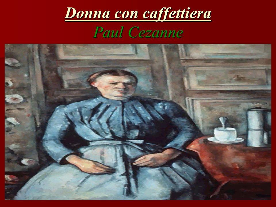 Donna con caffettiera Paul Cezanne