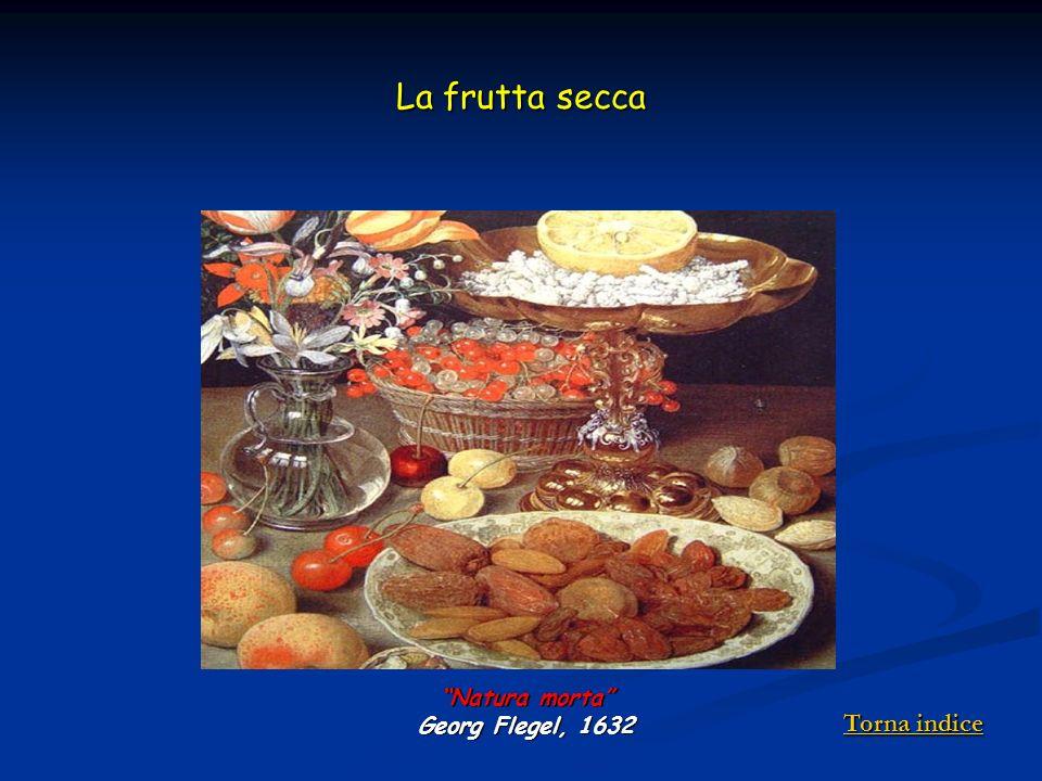 La frutta secca Natura morta Georg Flegel, 1632 Torna indice Torna indice