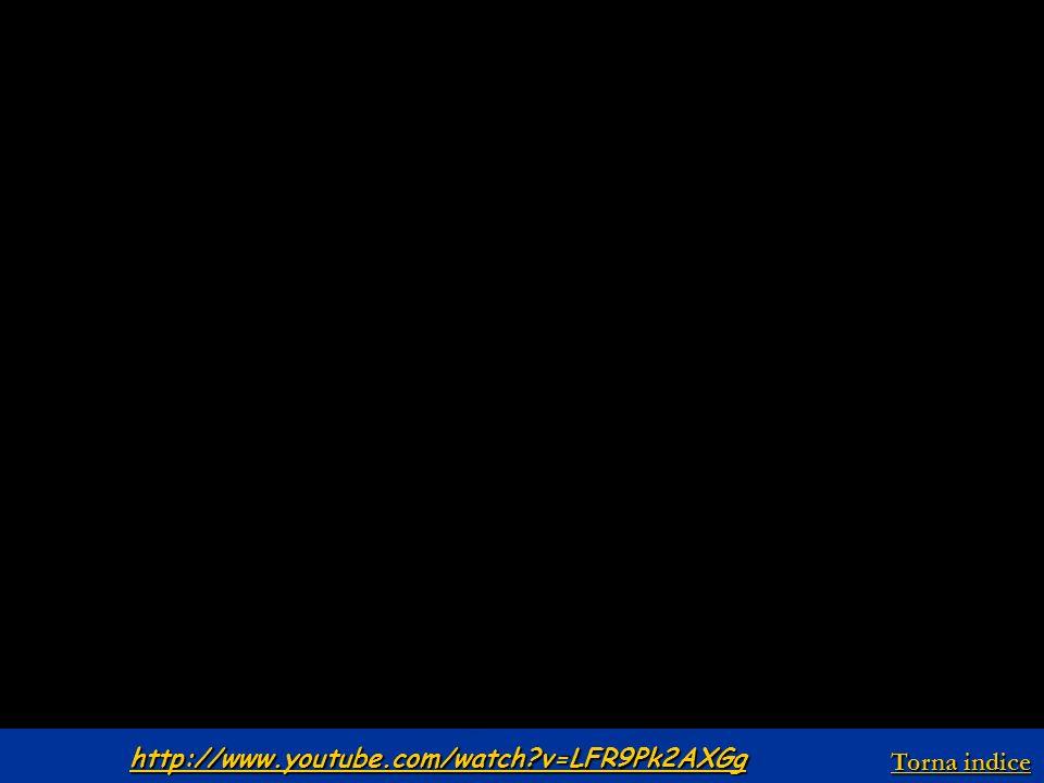 http://www.youtube.com/watch?v=LFR9Pk2AXGg Torna indice Torna indice