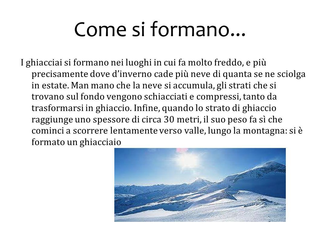 Fine Relazione di Federico Paesani Ghiacciai 2° BE