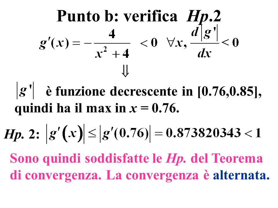 Teorema 1: convergenza locale del metodo di Newton