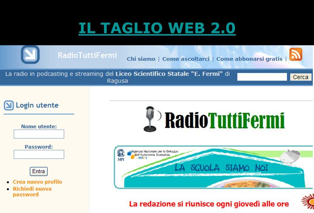11 IL TAGLIO WEB 2.0