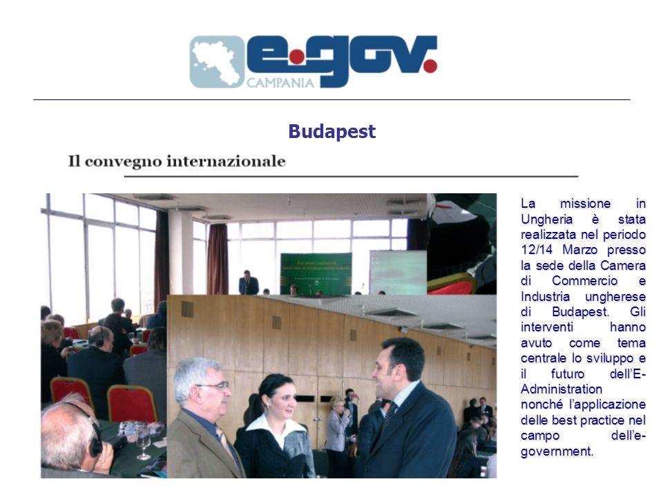 Budapest La missione in Ungheria è stata realizzata nel periodo 12/14 Marzo presso la sede della Camera di Commercio e Industria ungherese di Budapest.