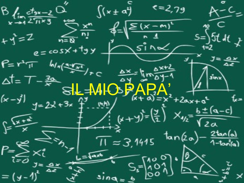 A che età ha scoperto lesistenza della matematica.
