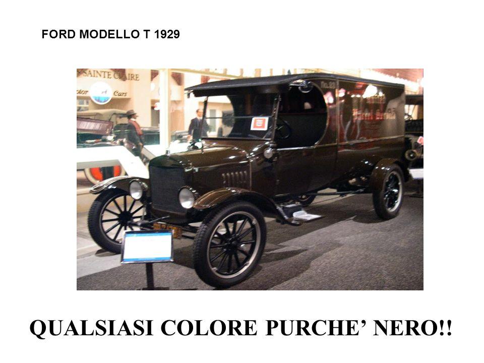 FORD MODELLO T 1929 QUALSIASI COLORE PURCHE NERO!!