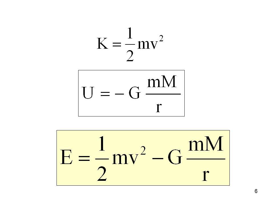 Il grafico di U in funzione di r 7