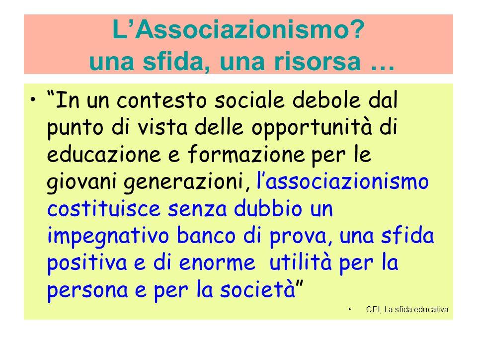 LAssociazionismo.