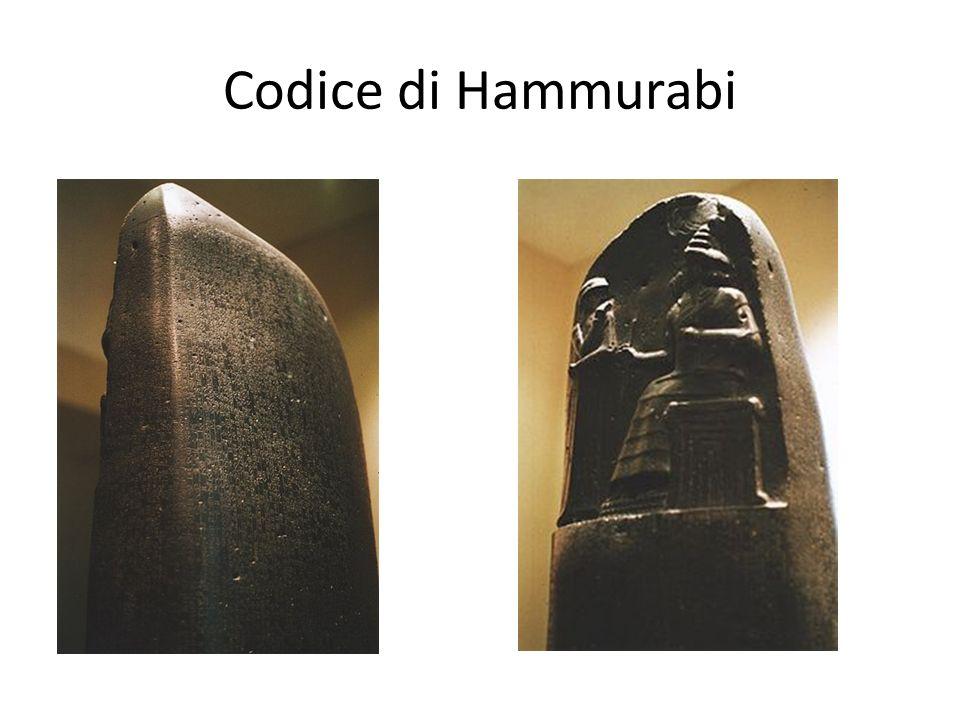 Caratteristiche del Codice di Hammurabi Leggi dettagliate: aiuto per gli studiosi per ricostruire la vita di un popolo antico.