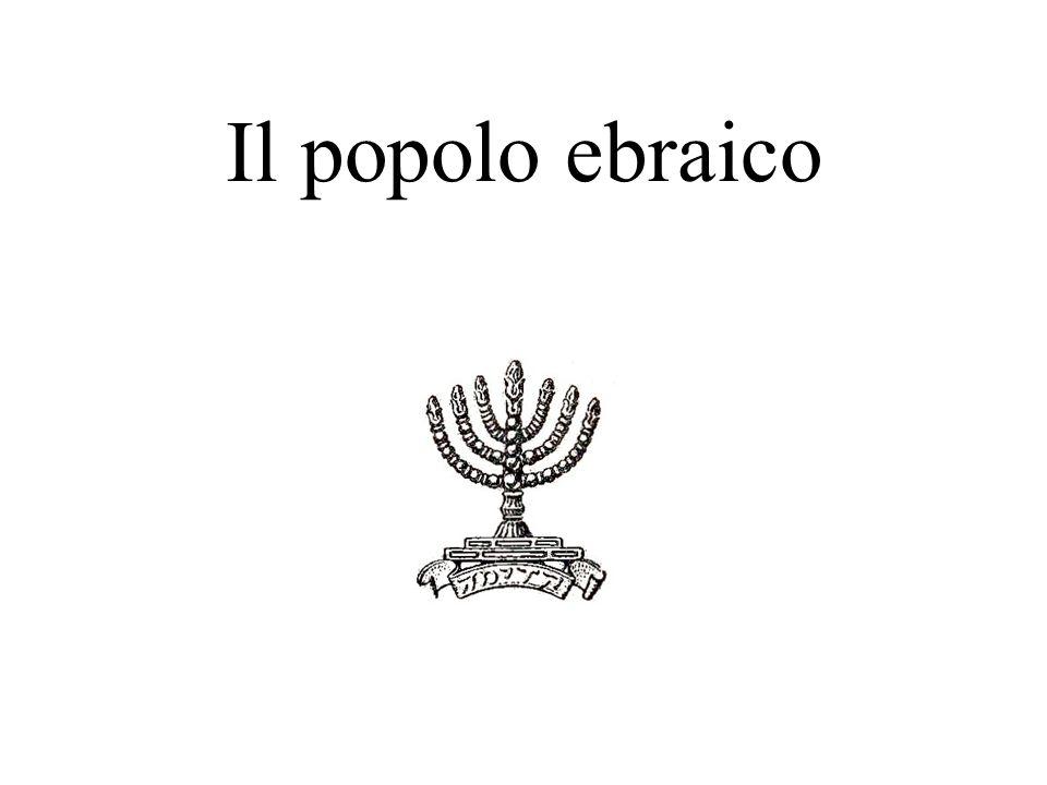 Il popolo ebraico