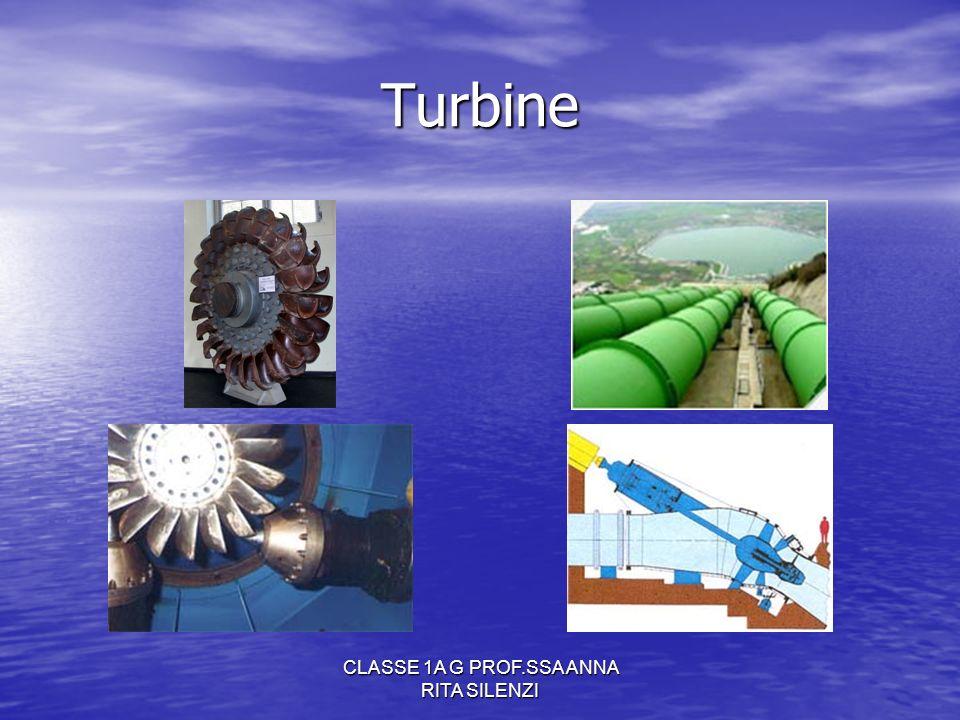 CLASSE 1A G PROF.SSA ANNA RITA SILENZI Turbine