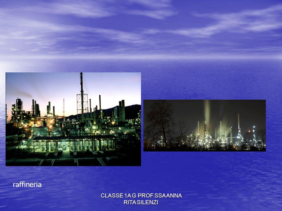 CLASSE 1A G PROF.SSA ANNA RITA SILENZI raffineria