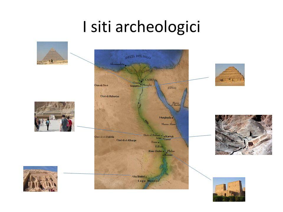 I siti archeologici