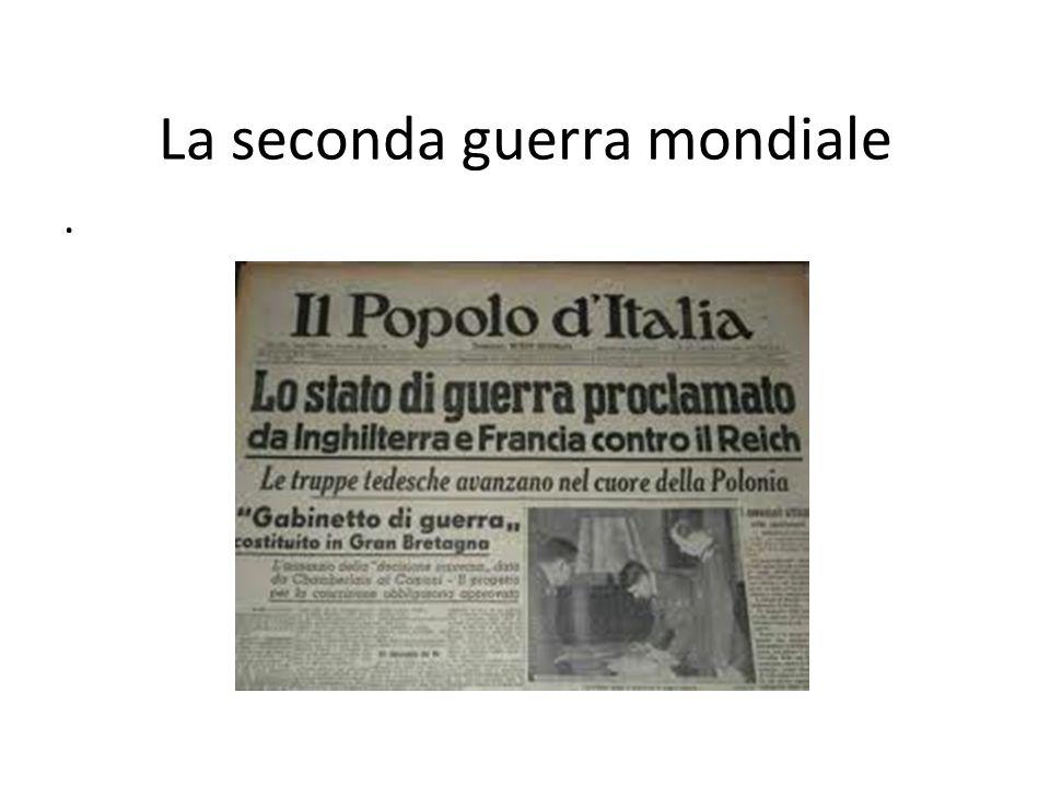La guerra in Italia 12 giugno 1943 le truppe anglo-americane sbarcano in Italia, a Pantelleria.